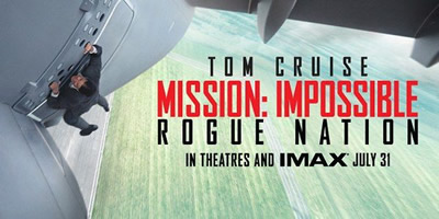 Mission Impossible Rogue Nation.